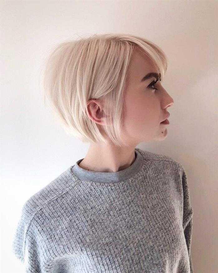 cabelo curto e reto