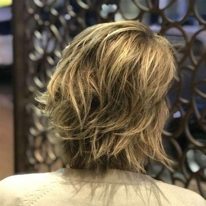 cabelo curto costas