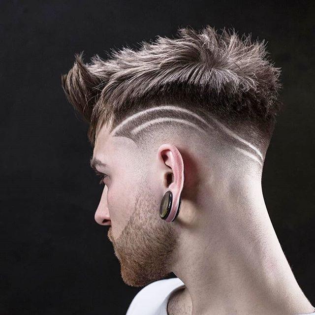 Cortes de cabelo masculino com risco 2020