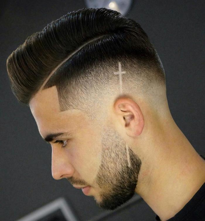 cortes de cabelo masculino com cruz