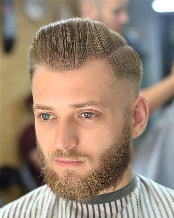 cabelo masculino ruivo escuro