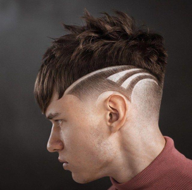 Cortes de cabelo masculino 2020 com desenhos