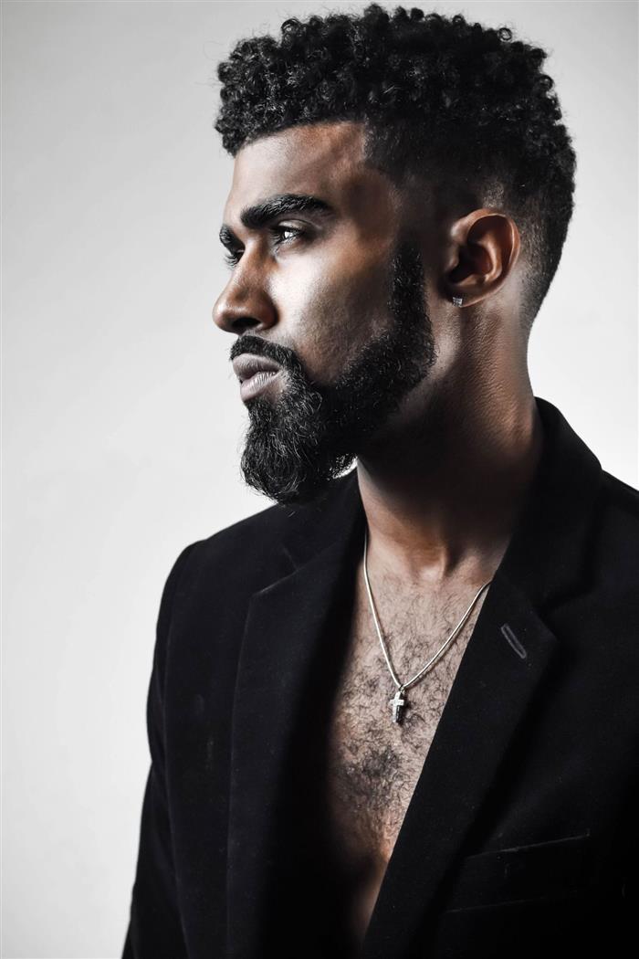 cortes de cabelo masculino crespo medio