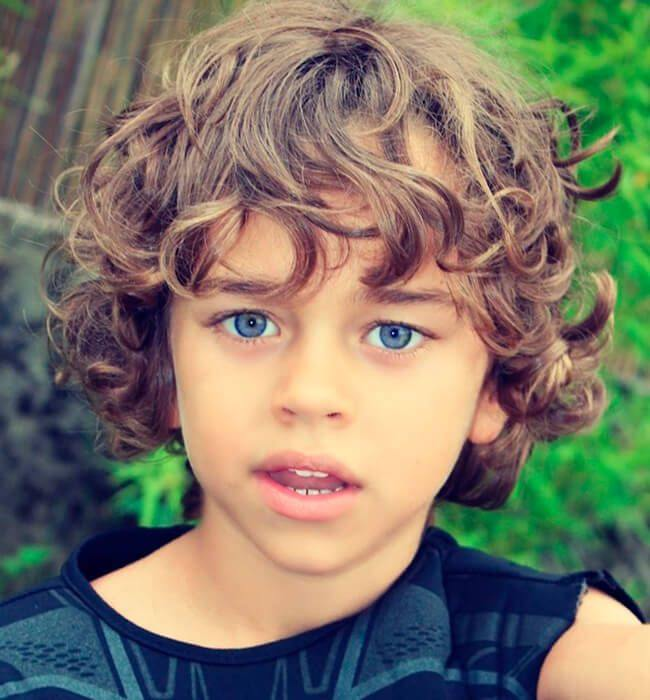 Cortes de cabelo masculino infantil social
