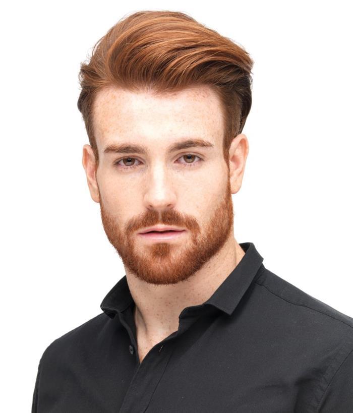 corte de cabelo ruivo