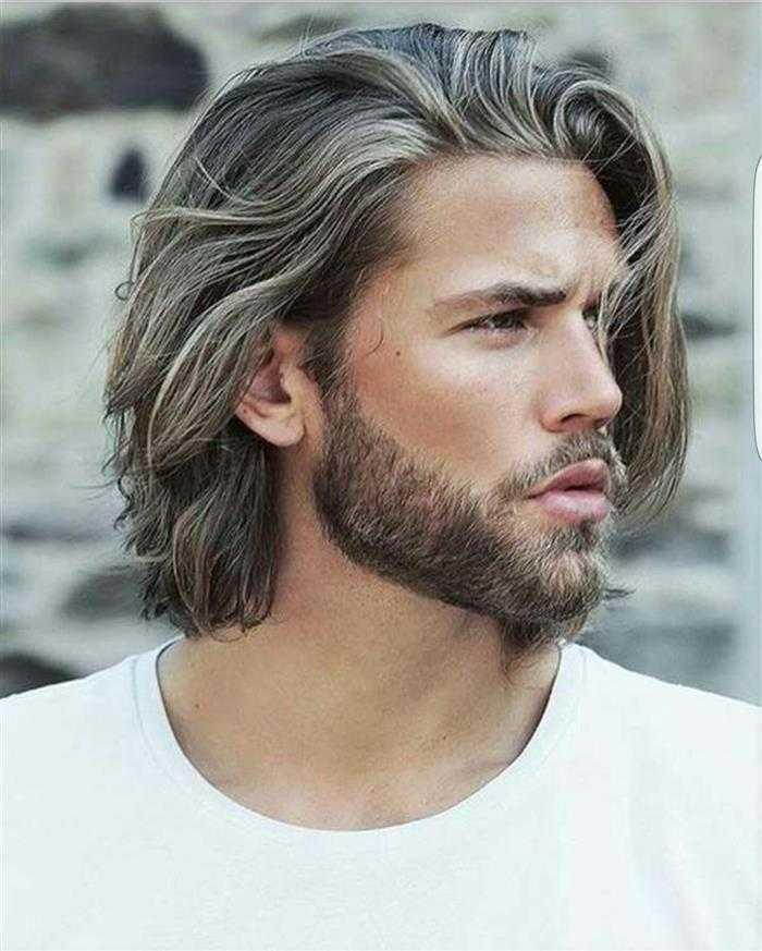 cabelo grande homem
