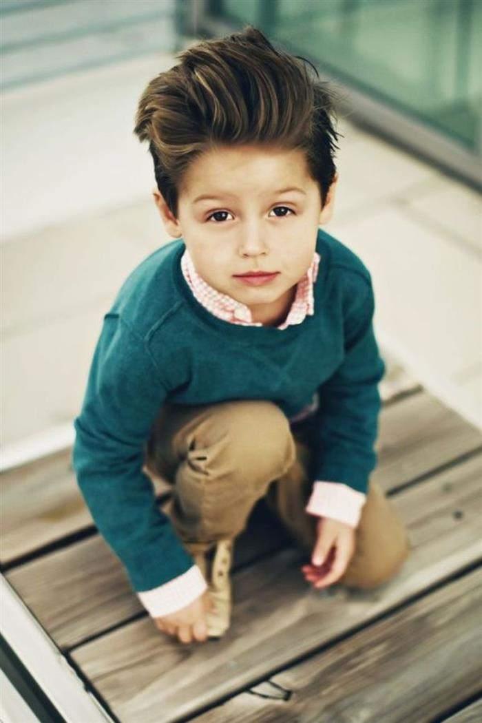 Cortes de cabelo masculino infantil ondulado