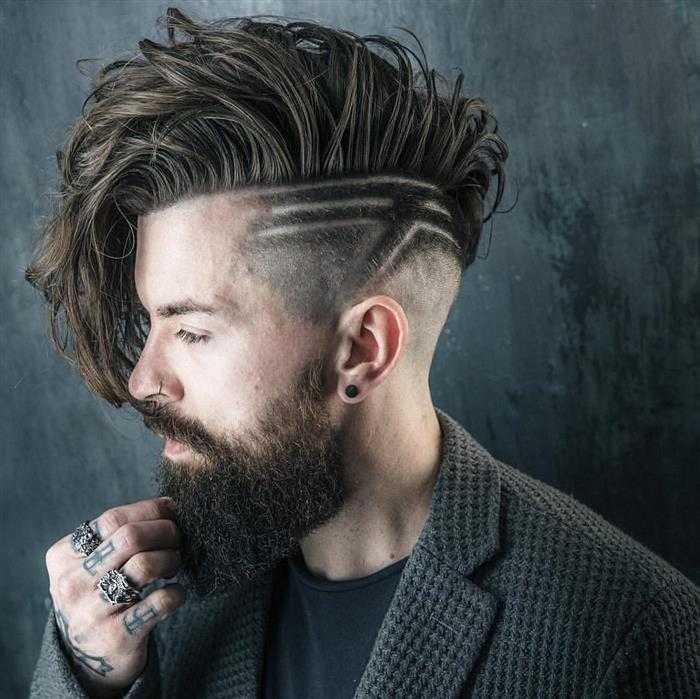 dicas de cortes de cabelo raspado na lateral