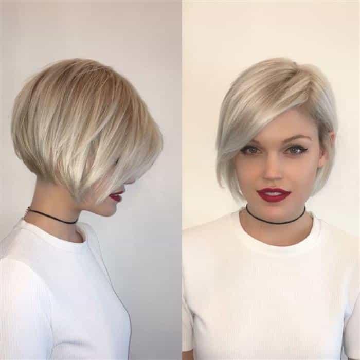 cortes de cabelo feminino para rosto redondo