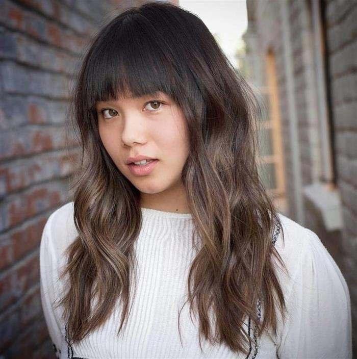 cabelo oriental feminino