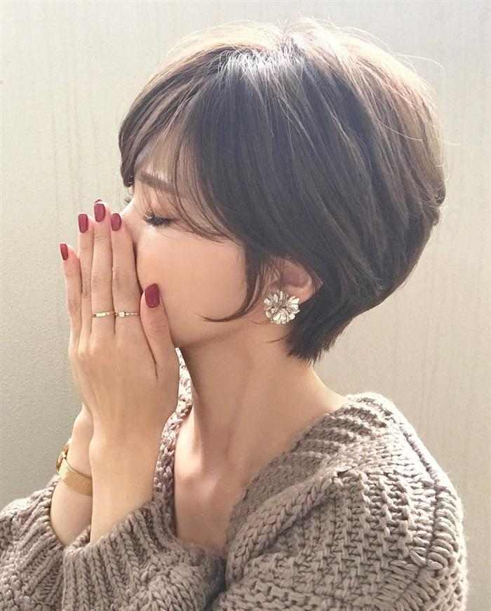 cortes de cabelo feminino curto com franja