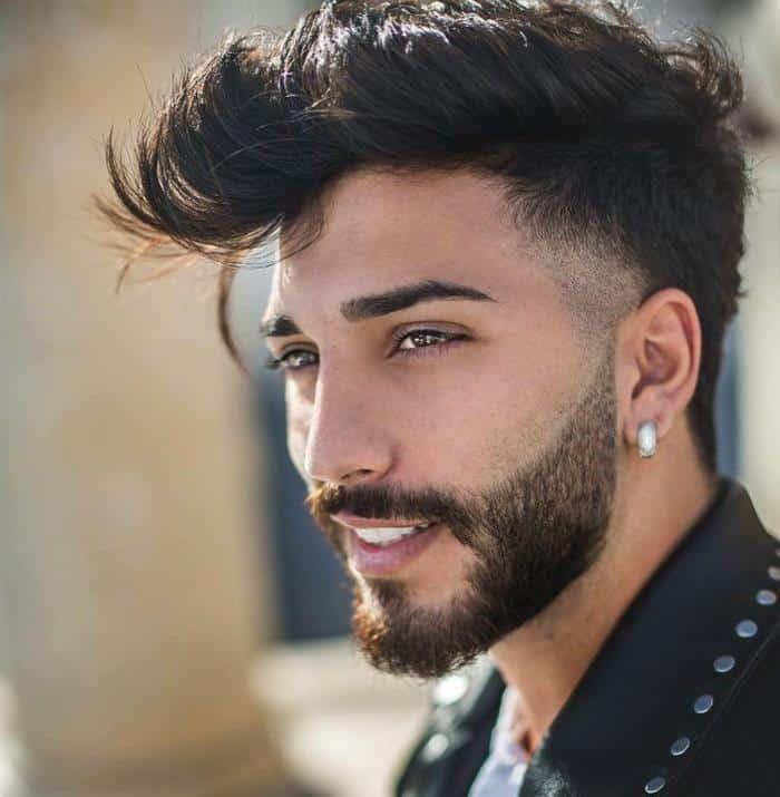 cabelo masculino moicano
