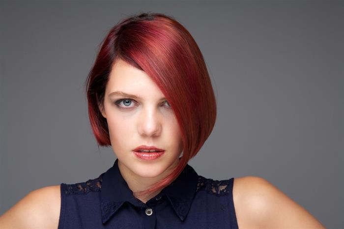 cabelo ruivo pintado