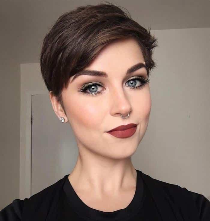 cortes de cabelo feminino batido na nuca