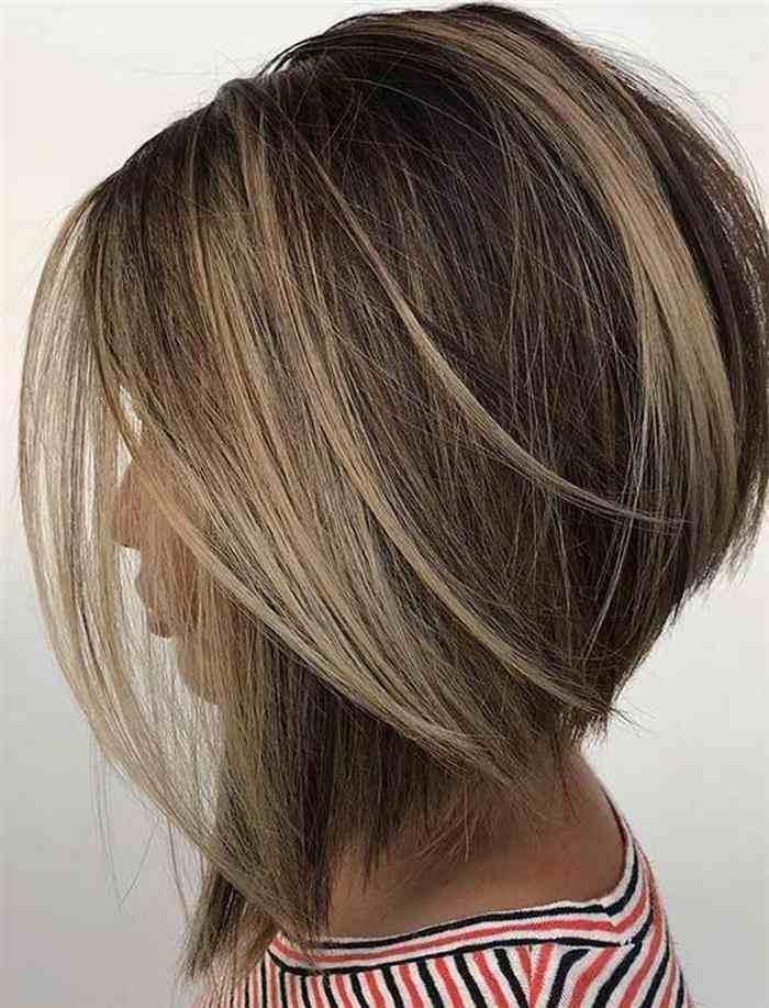 cabelo curto batido na nuca