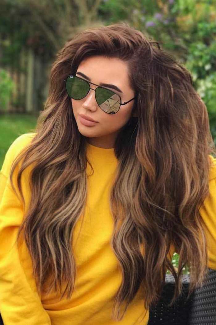 cabelo feminino longo