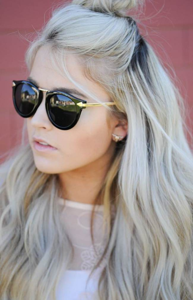 cabelos platinados