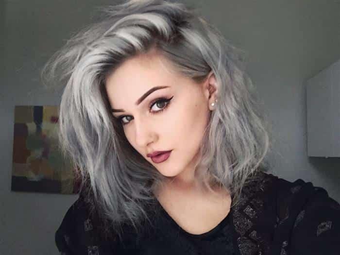 cortes de cabelos platinados