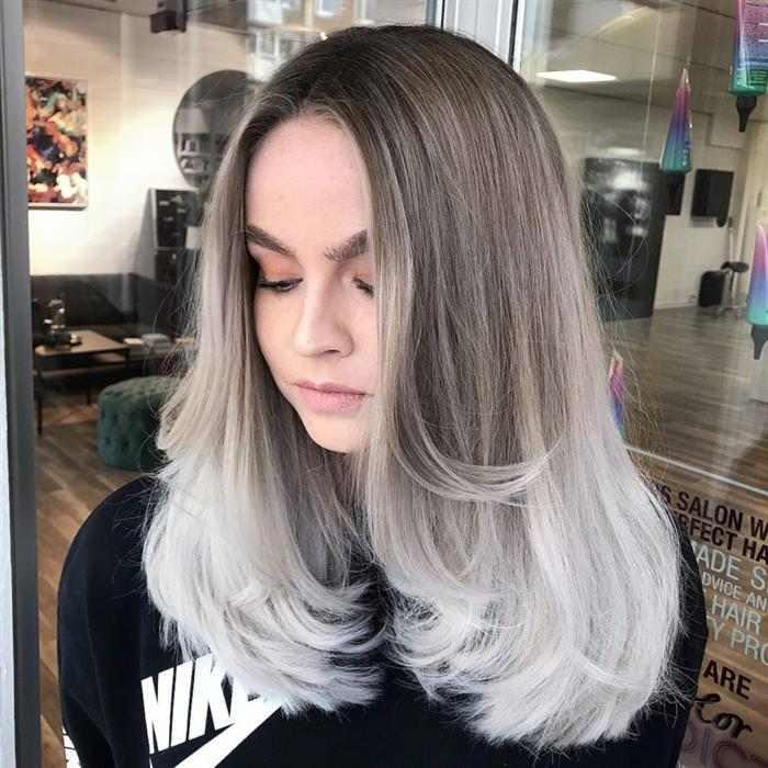 fotos de cabelos platinados