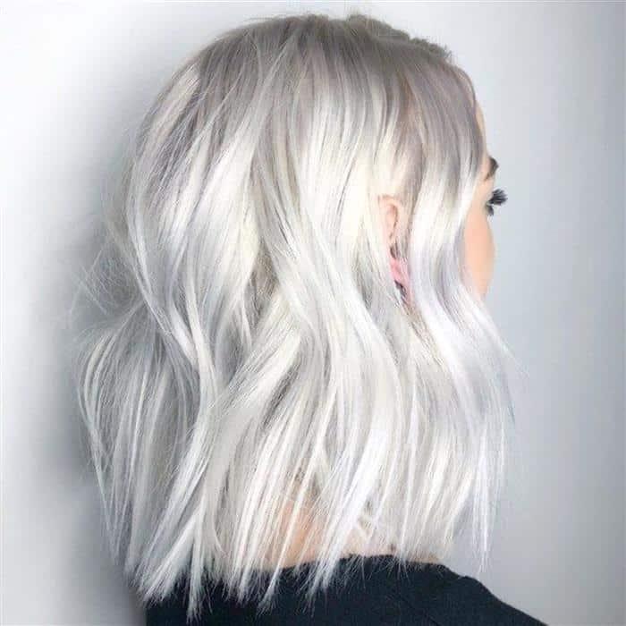 cabelos platinados 2020