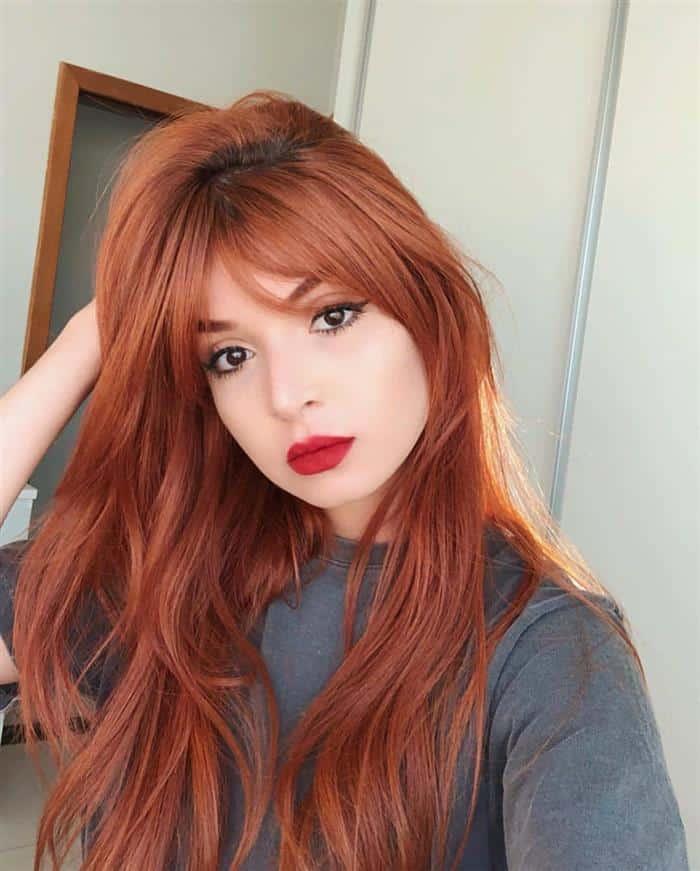 cabelos ruivos naturais