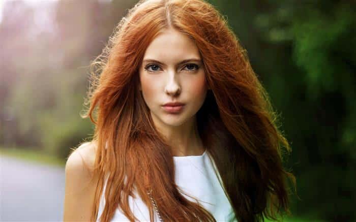 cabelos ruivos escuros