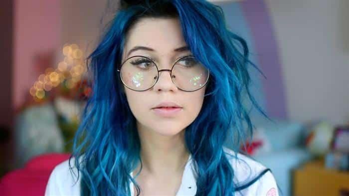cabelo azul 2020