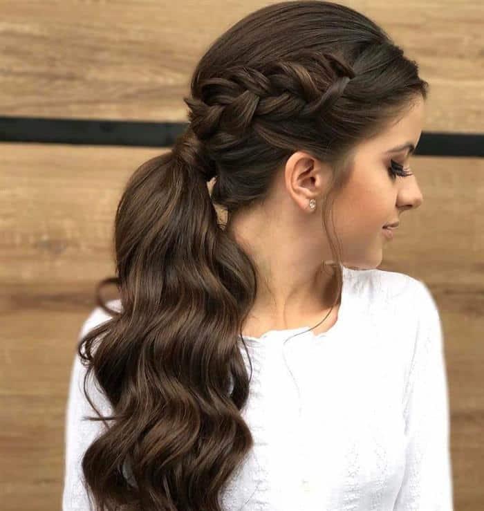 imagens de penteados com tranças