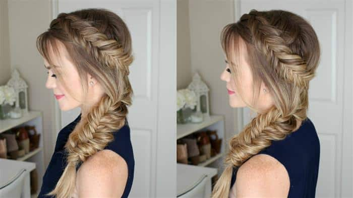 penteados com tranças para festa