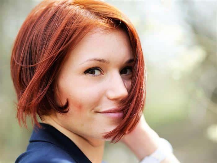 cor de cabelos ruivos
