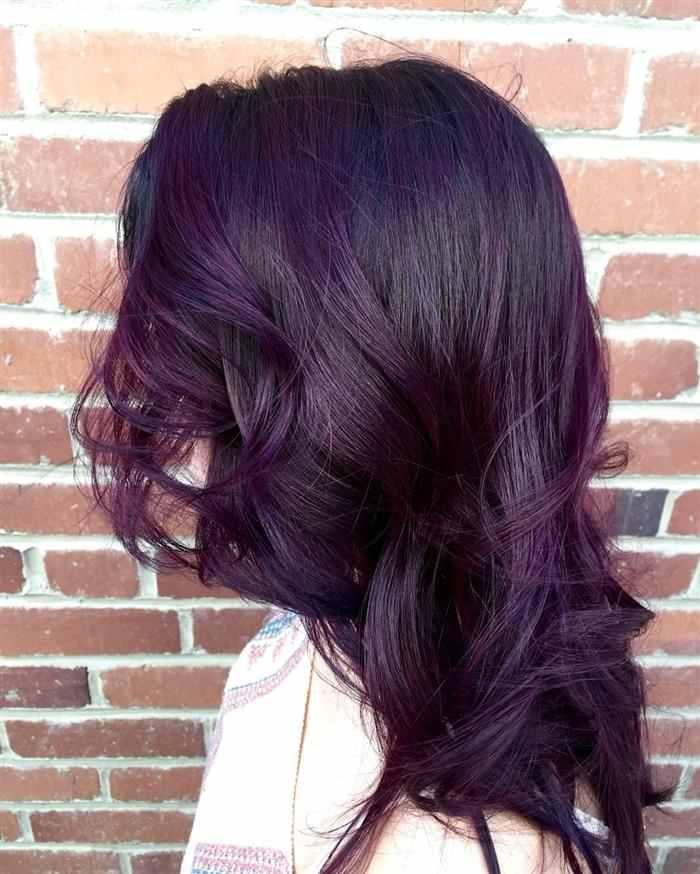 como deixar o cabelo roxo