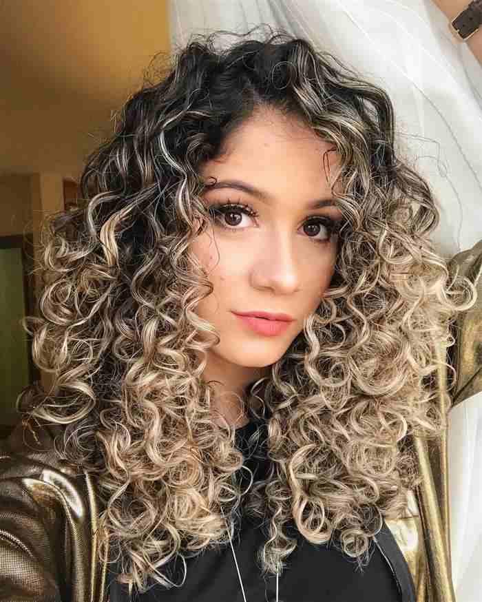 imagens de cabelos com luzes