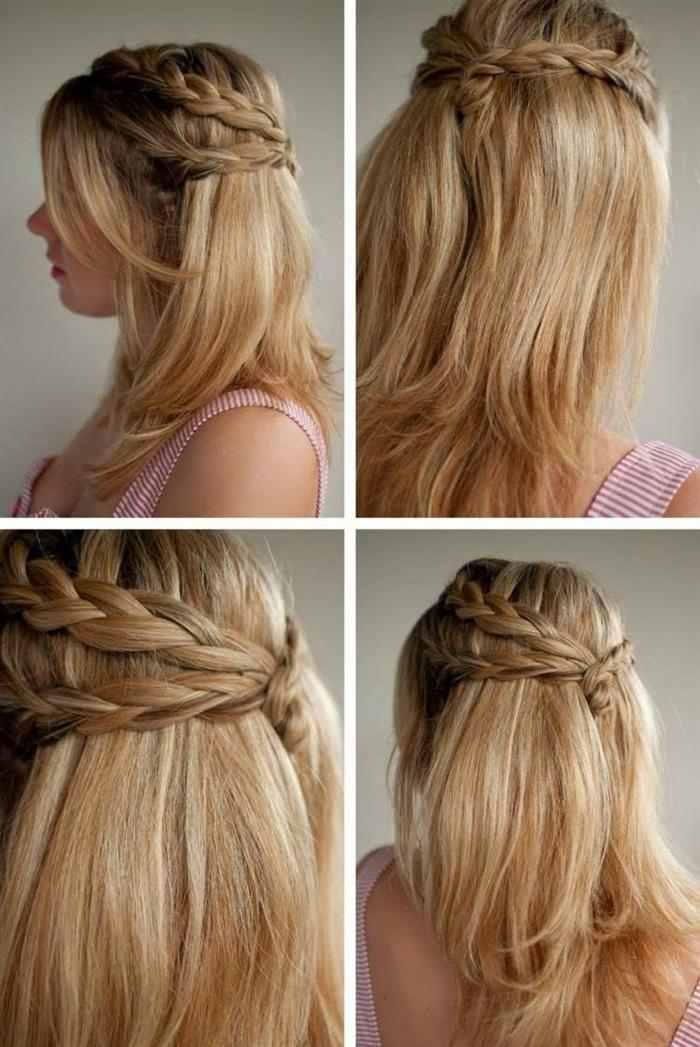 penteados simples batizado
