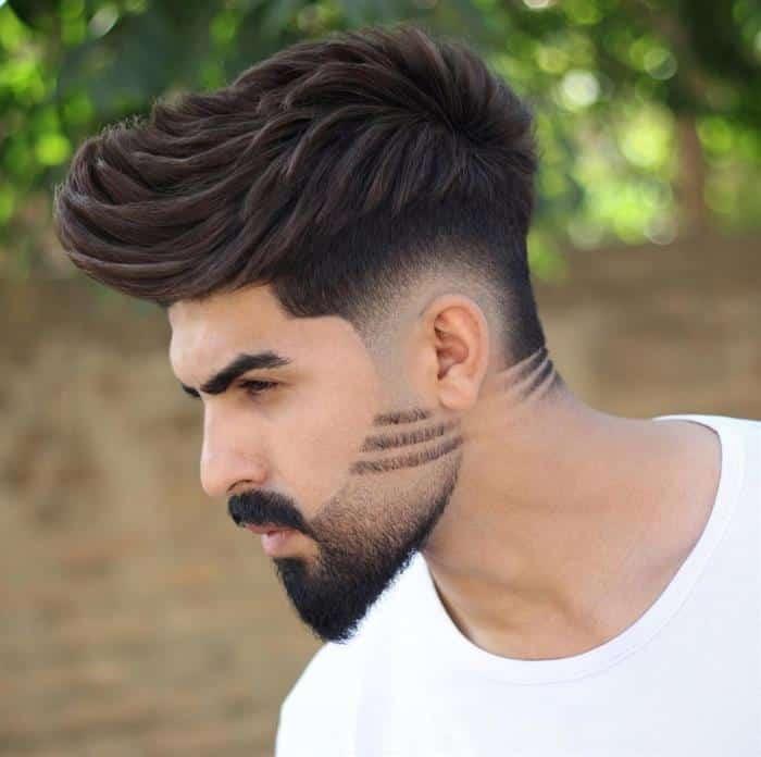 Barba degradê