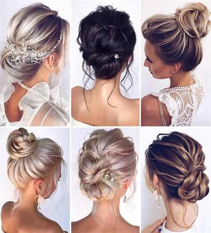 penteados presos para noivas