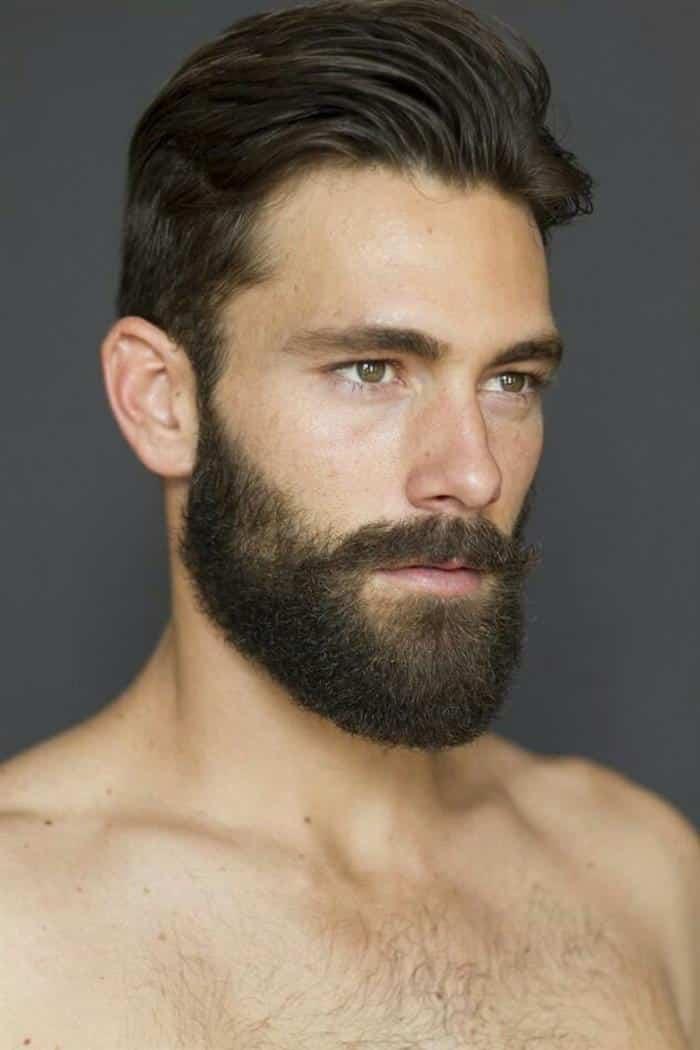 fotos de barbas modernas