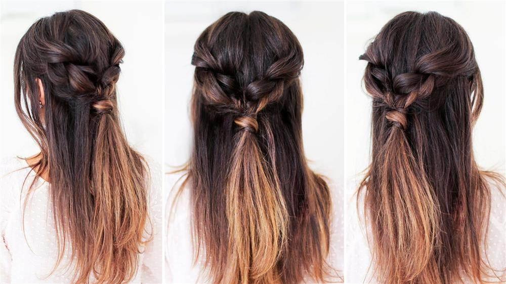 penteados romanticos