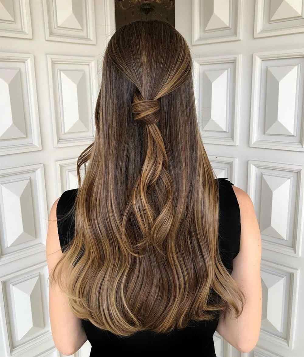 morena iluminada 2020 cabelo longo