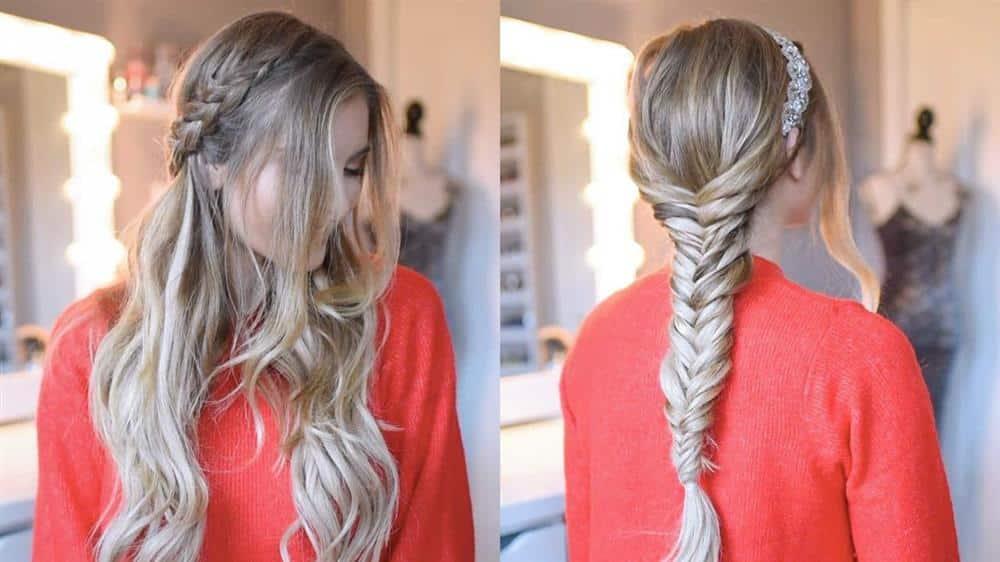 penteados faceis cabelo longo