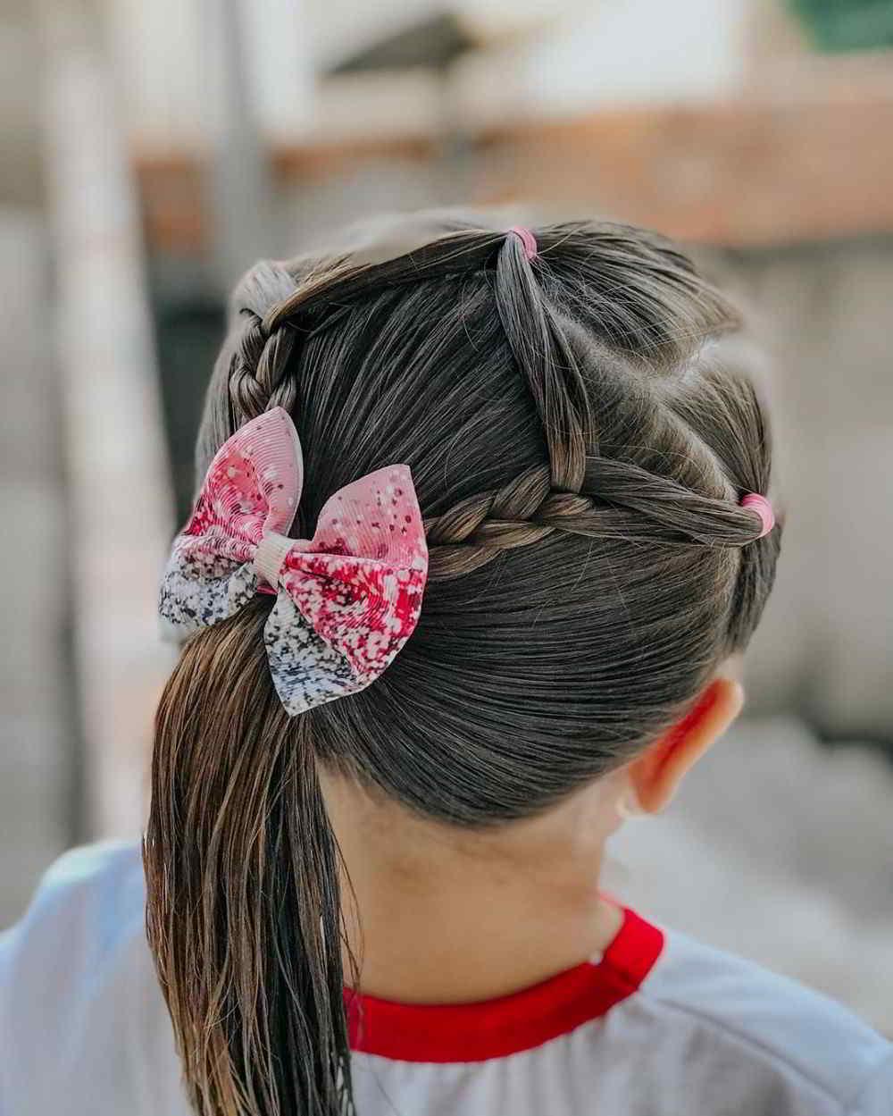 penteados fáceis para escola