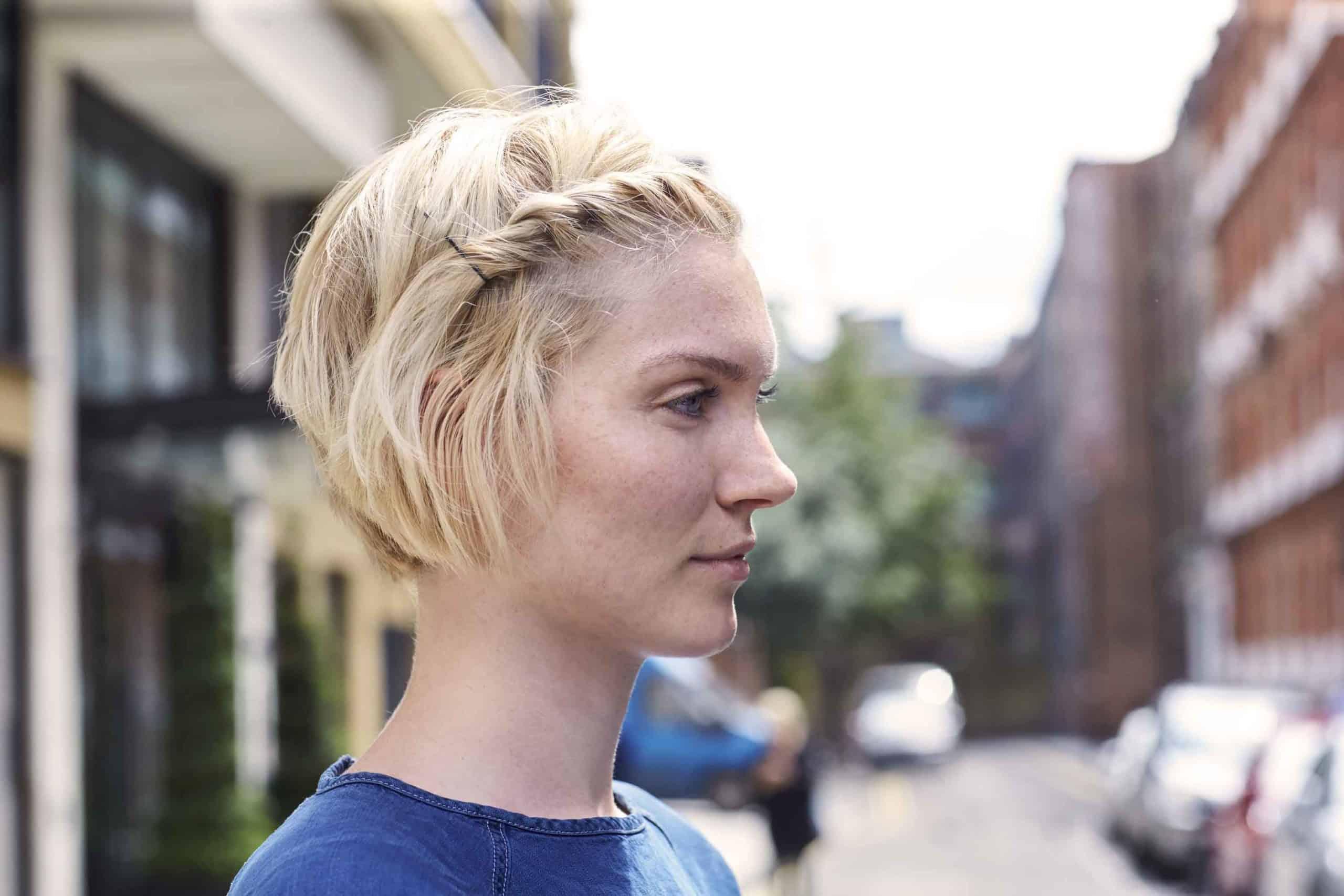 penteados fáceis cabelo curto