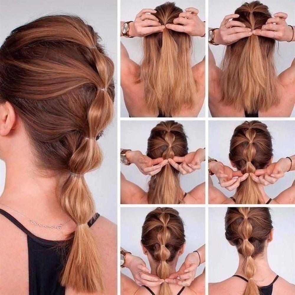 penteados com elasticos