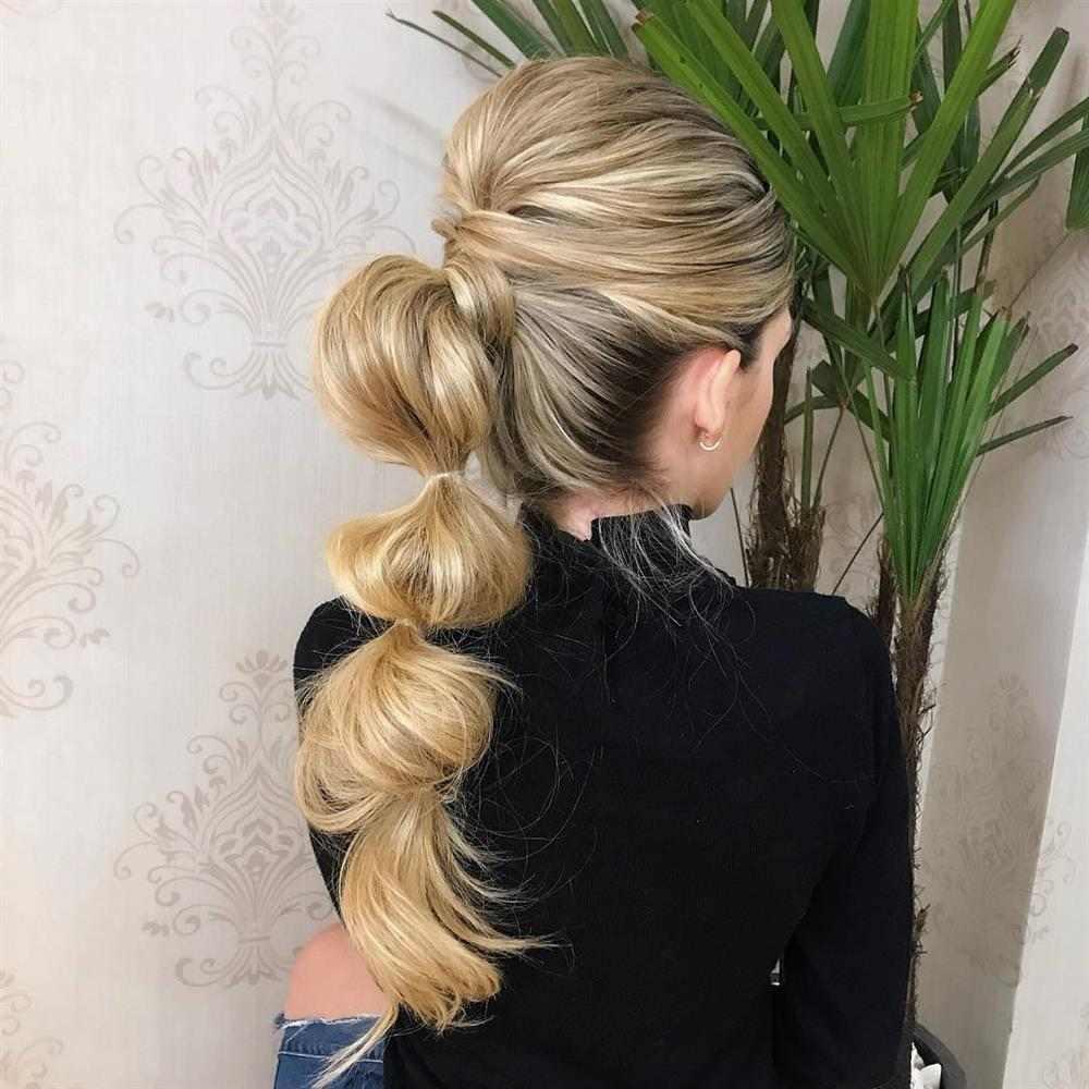 penteado com elastico