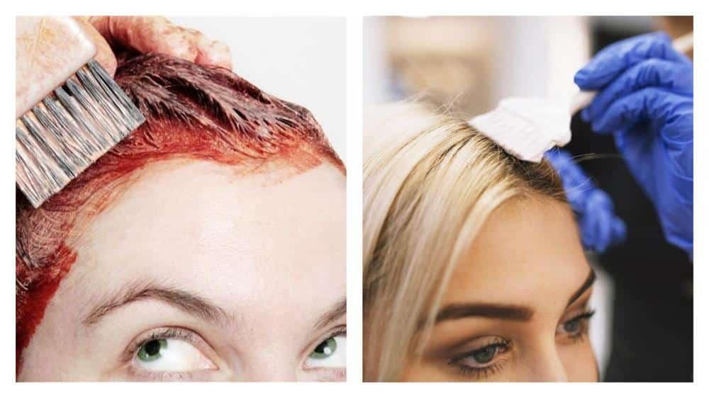 como tirar tinta de cabelo da pele depois de seca