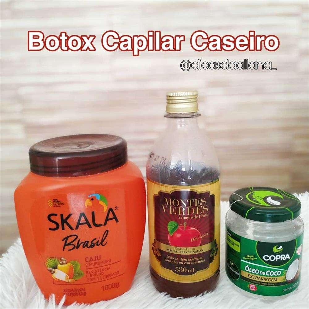 botox capilar caseiro
