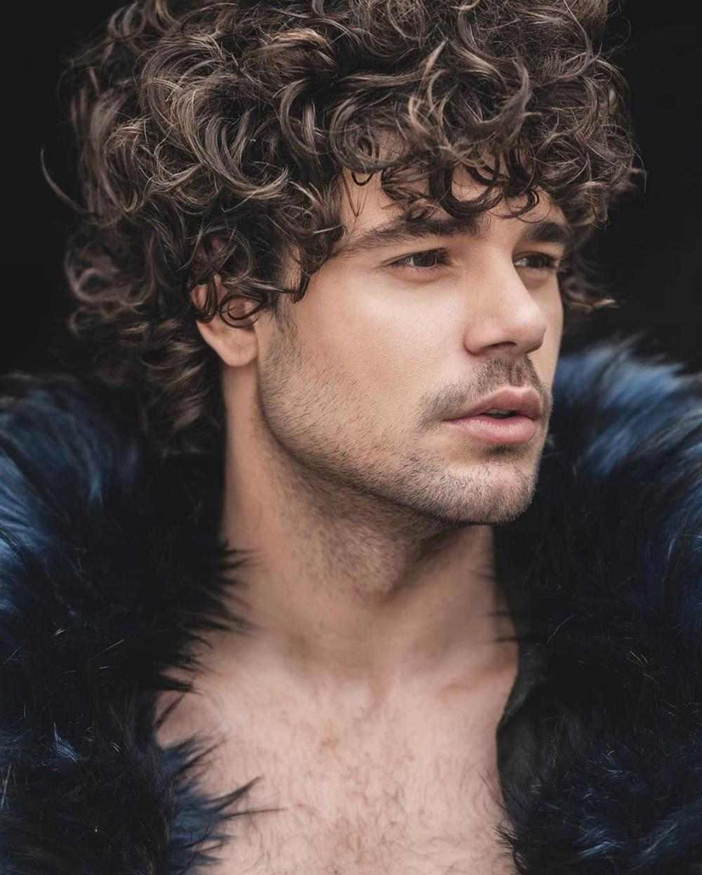 cabelo cacheado masculino anjinho