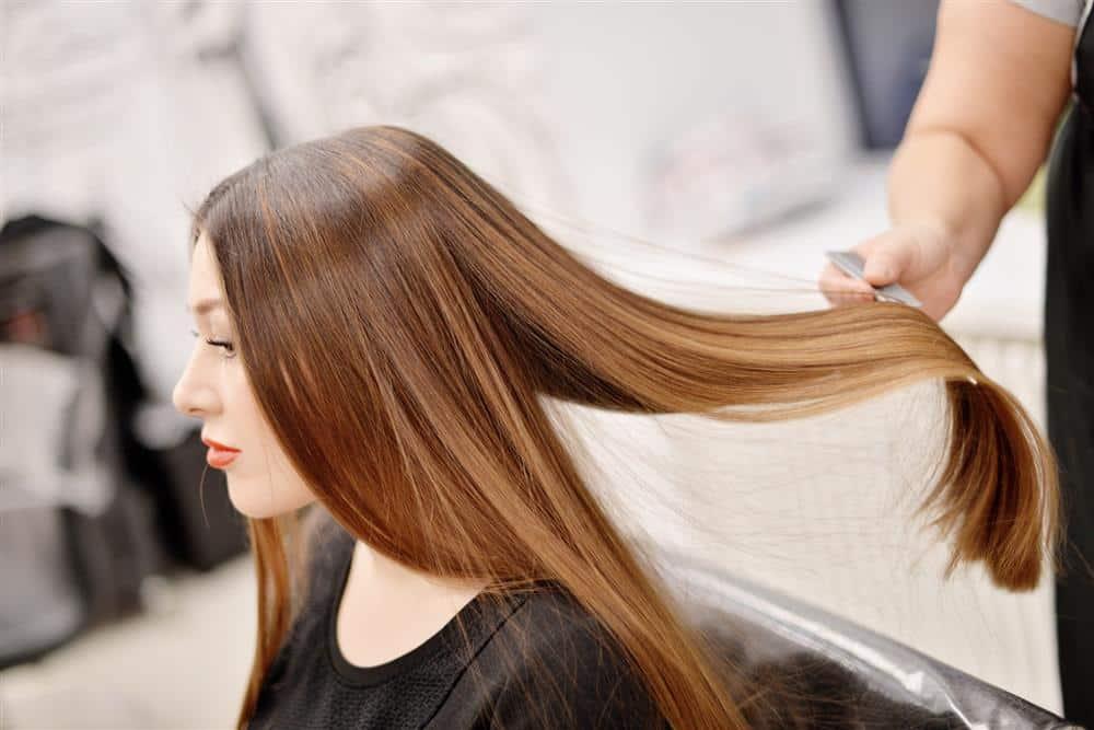 hidratação com soro fisiologico no cabelo