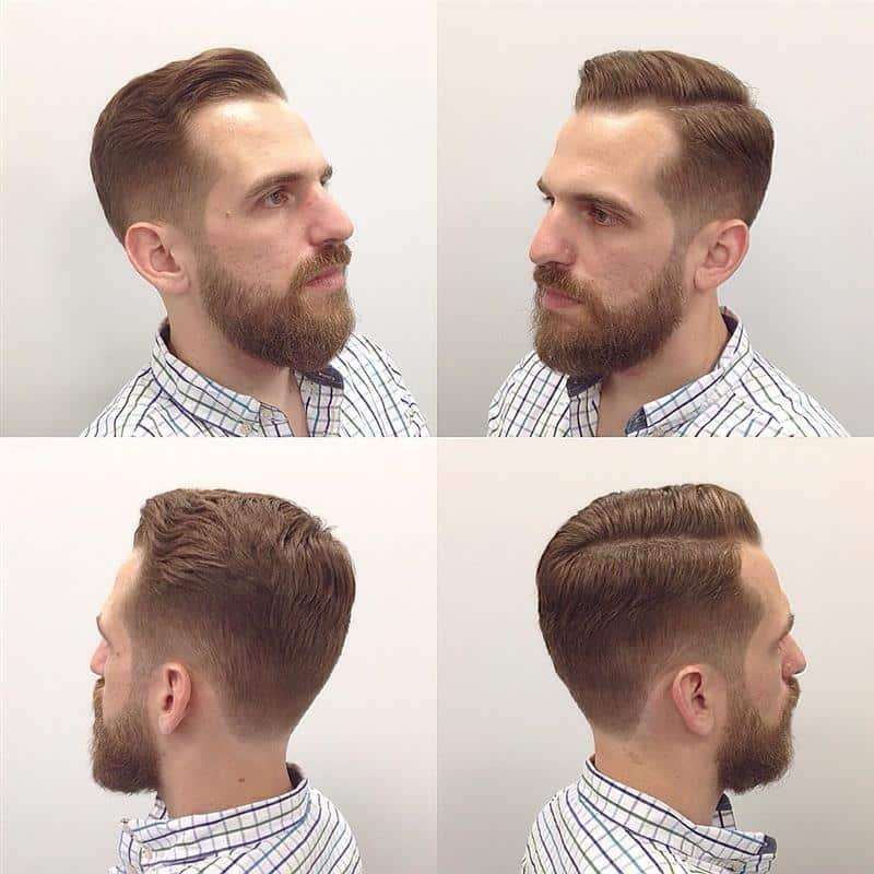 corte de cabelo masculino de lado