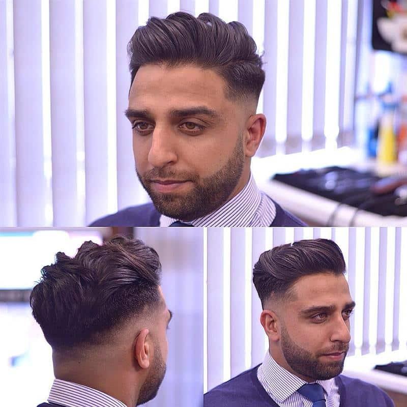 corte de cabelo masculino para rosto redondo