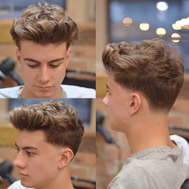 corte de cabelo masculino atras
